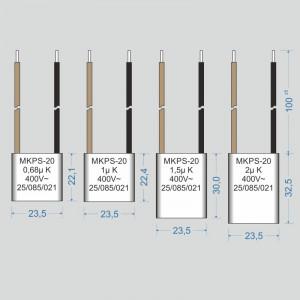 Condensator  0,68 µF
