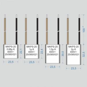 Condensator  2 µF