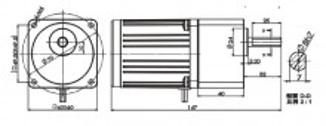 Motoreductor arzator peleti 60-10-1