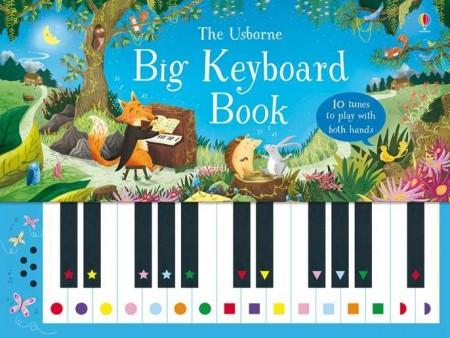 Big keyboard book, carte pian