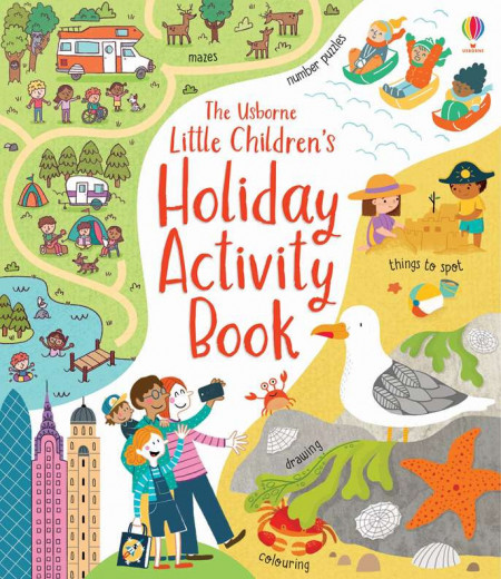 Carte de activități pentru copii, Little Children's Holiday Activity Book