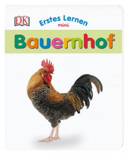 Carte in limba germana, primele cuvinte, Ferma, Erstes Lernen mini, Bauernhof, DK, 12+