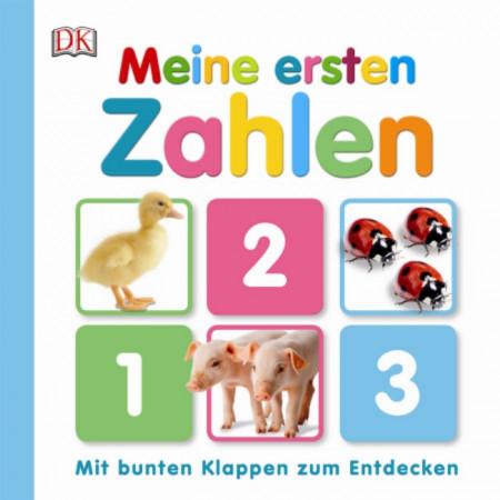 Carte in limba germana, primele mele numere, Meine ersten Zahlen, dK