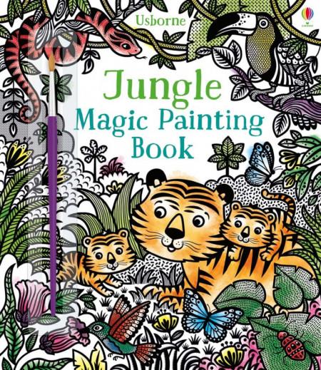 Jungle magic painting book, carte de pictat doar cu apa, usborne