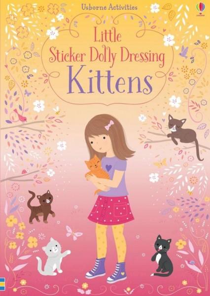 Little sticker dolly dressing kittens, usborne