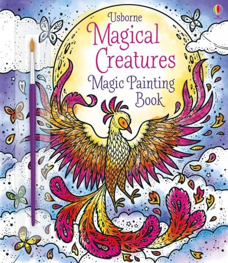 Magical creatures magic painting book