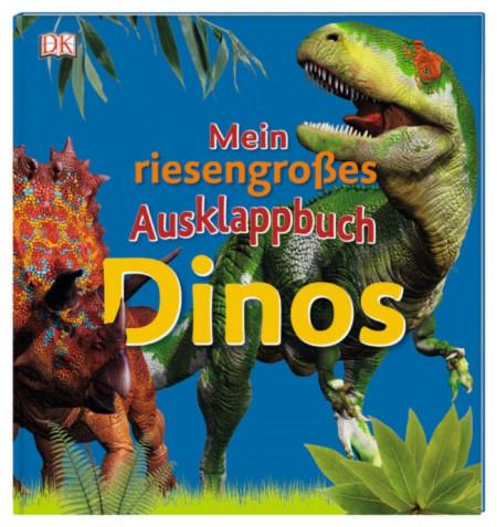 Marea mea carte plianta, Mein riesengroßes Ausklappbuch. Dinos, dk, 3+
