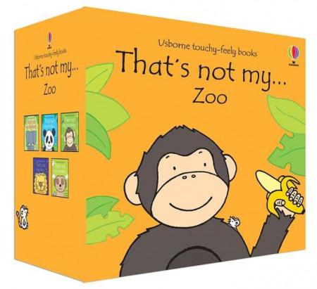 Pachet de 5 cărți senzoriale, That's not my...zoo boxset, usborne