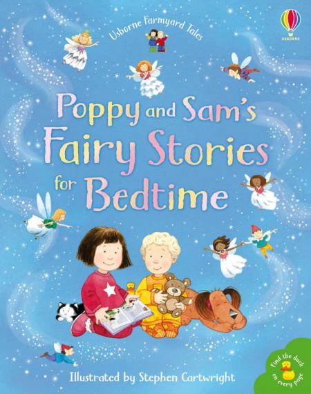 Poppy and Sam's Book of Fairy Stories, Philip Hawthorn, Usborne, 2+