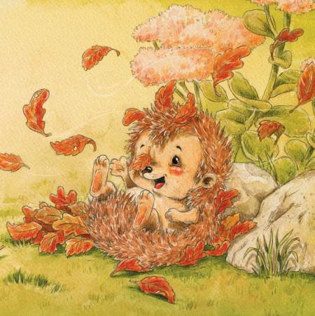 Somn usor, micutule arici!