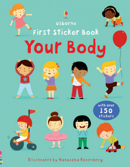 Your body sticker book