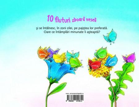 10 fluturi zboara veseli