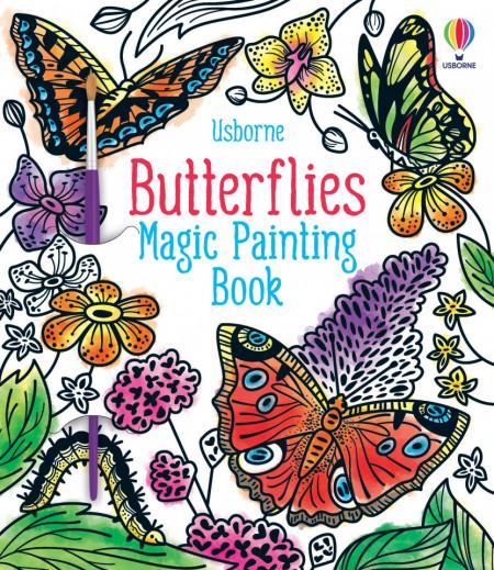 Butterflies Magic Painting Book, Abigail Wheatley, Usborne