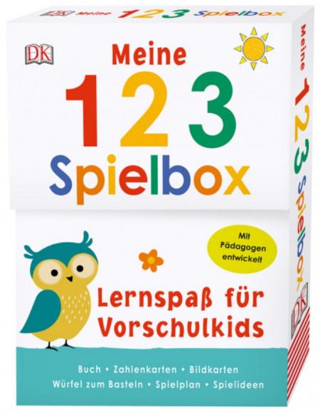 Carduri in limba germana, Meine 123-Spielbox, dK, 5+