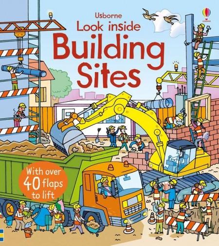 Carte cu multe clapete pentru copii curiosi, Look inside building sites