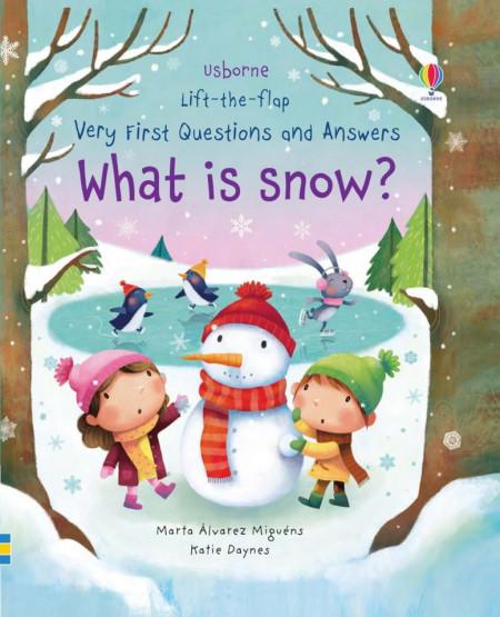 Carte cu multe clapete pentru copii curiosi, What is snow? , Usborne