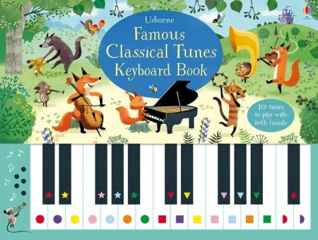 Famous classical tunes keyboard book