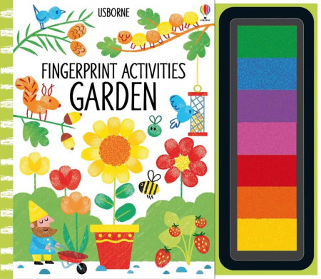 Fingerprint activities, garden, usborne