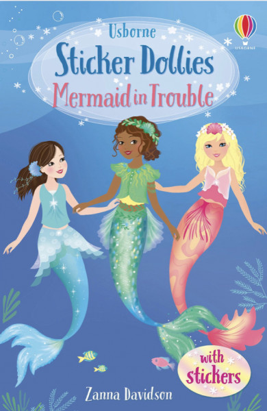 Sticker dollies Mermaid in Trouble, Usborne, 5+