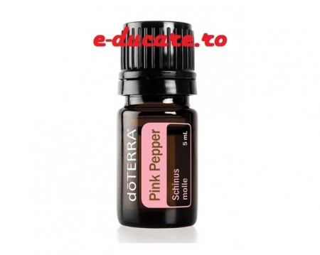 Ulei esential pink pepper, pentru sistemul imunitar, respirator si sanatate celulara, 15 ml, Doterra