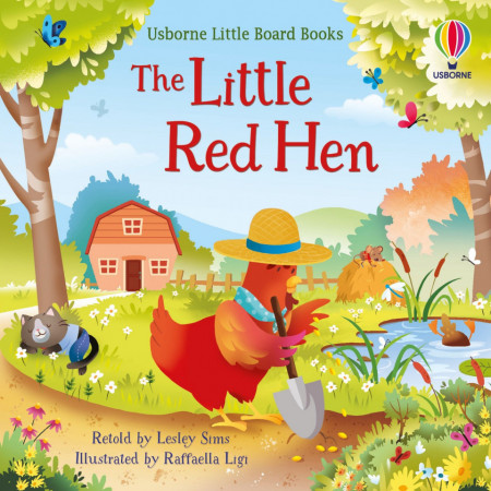 Usborne little board books, The Little Red Hen, 2+