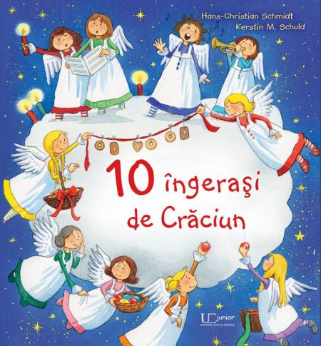 10 ingerasi de Craciun - Hans Christian Schmidt, Kerstin M. Schuld