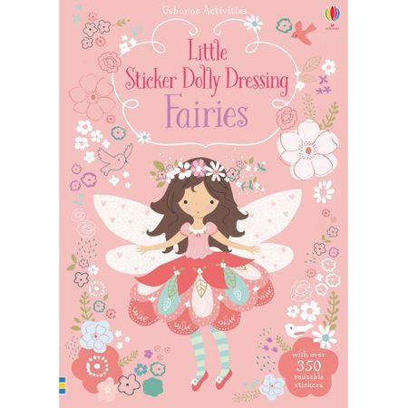 """Carte cu stickers """"Fairies"""" , 4 ani+, Usborne"""