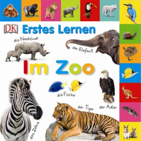 Carte in limba germana, primele cuvinte, Erstes Lernen : Im zoo, DK, 12+