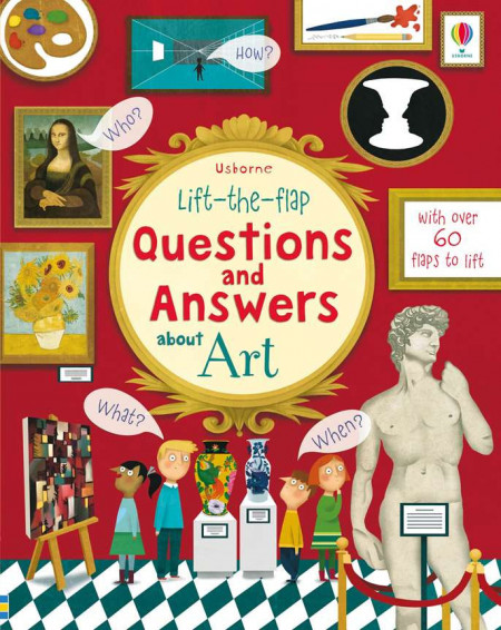 Lift-the-flap questions and answers about art