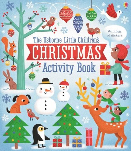 Little children's Christmas activity book, Usborne