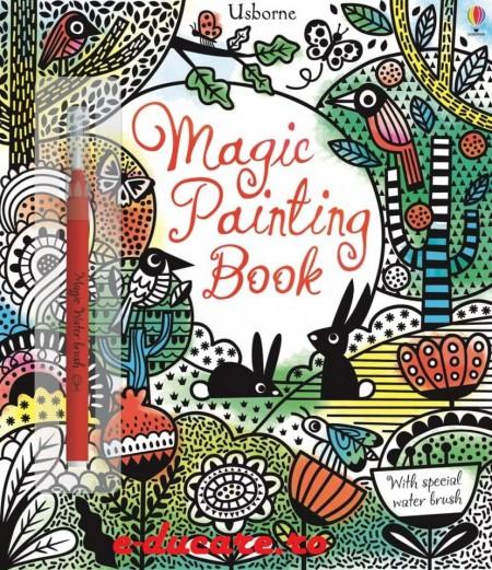 Magic painting book, carte magica de pictat doar cu apa, usborne
