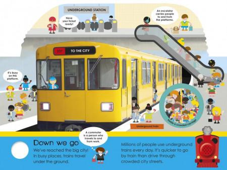 My Best-Ever Pop-Up Noisy Train Book, DORLING KINDERSLEY CHILDREN'S