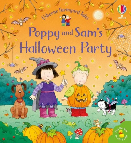 Poppy and Sam's Halloween party Usborne