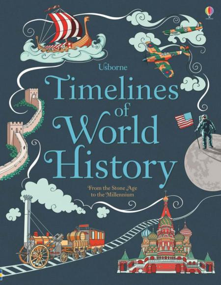 Timelines of world history, cartonata, Usborne