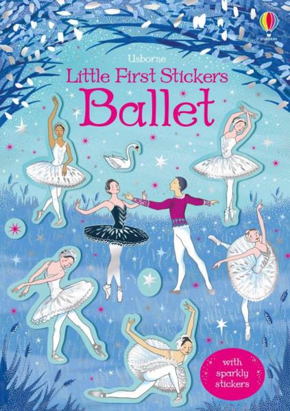 Ballet little first stickers, usborne