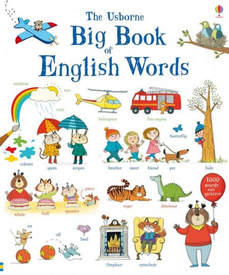 Big Book of English Words, Usborne