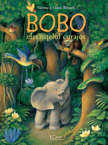 Bobo, elefantelul curajos