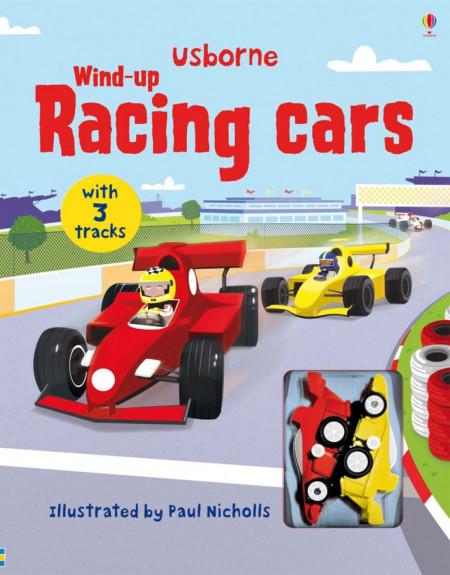 Carte cu jucarie, Wind-up racing cars, Usborne