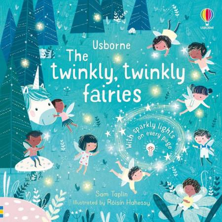Carte cu luminite led, The Twinkly Twinkly Fairies, Usborne