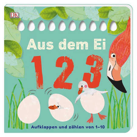 Carte in limba germana, Aus dem Ei - 1 2 3 DK, 12+