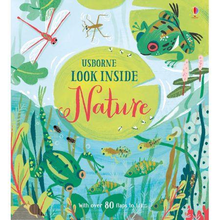 """Carte """"Look inside nature"""", 5 ani+, Usborne"""
