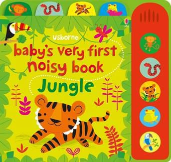 Carte sonora Baby's very first noisy book jungle