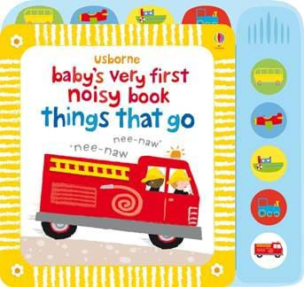 Carte sonora Baby's very first noisy book things that go