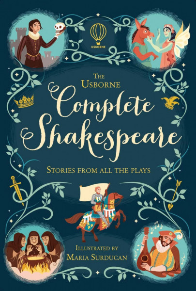 Complete Shakespeare, cartonata, Usborne, 8+