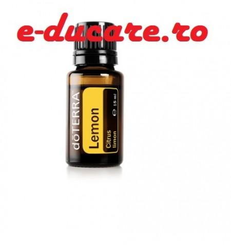 Ulei esential lemon, Lamaie Citrus limon, purifiant, energizant, digestiv, doterra, 15ml