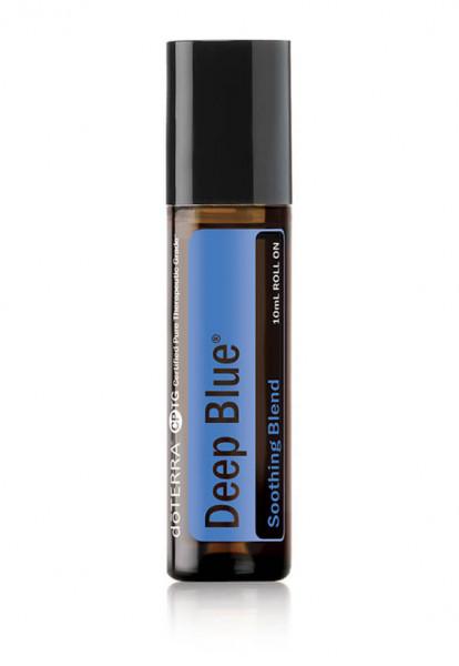 Blend roll-on din uleiuri esentiale deep Blue doTERRA, folosit si de catre sportivii de performanta, 10 ml, Doterra