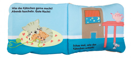Prima mea carte de papusi, Mein Handpuppen-Buch. Kleiner katze, dK