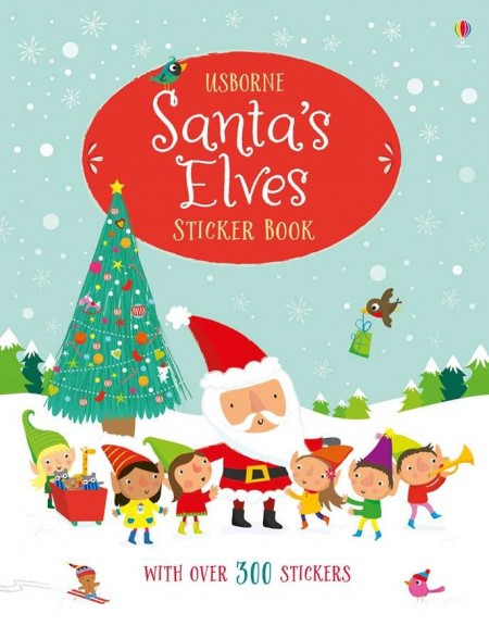 Santa's elves Christmas sticker book, Usborne