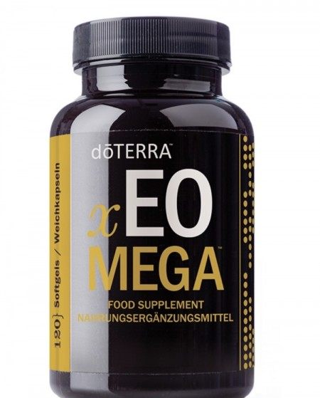XEO Mega Essential Oil Omega Complex, 120 capsule moi cu uleiuri esentiale si continut de omega, llv, lifelong vitality, doterra