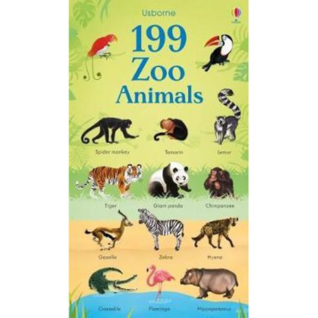 199 Zoo Animals, Usborne
